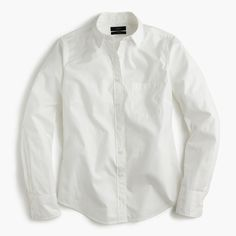 Shop the Petite New Perfect Shirt In Cotton Poplin at JCrew.com and see the entire selection of Women's Shirts.
