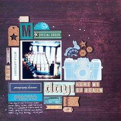 Layout created by Irit Landgraf using the October Hip Kit Club kits