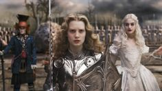 #film #fashion #aliceinwonderland #armour #fight #defend #strong #alice