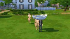 Sims 3 hat mod. Wear a bathtub as a hat, you can put a person in the bathtub because its still technically a bathtub, and then give them a hat. - GIF on Imgur