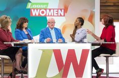 Ken Morley appears on 'Loose Women' after he was kicked out of 'Celebrity Big Brother' for offensive behaviour