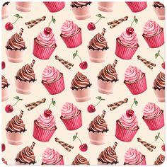 34 ideas cupcakes wallpaper behance for 2019 Cupcake Illustration, Cute Wallpaper Backgrounds, Cute Cartoon Wallpapers, Wallpaper Desktop, Girl Wallpaper, Disney Wallpaper, Wallpaper Quotes, Papier Paint, Tee Kunst