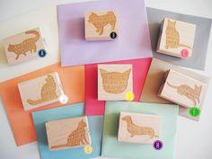 (via Custom Pet Return Address Stamp   Paper Pastries)