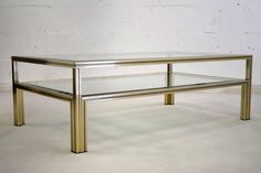 Pierre Vandell 1970's Coffee Table | From a unique collection of antique and modern coffee and cocktail tables at https://www.1stdibs.com/furniture/tables/coffee-tables-cocktail-tables/