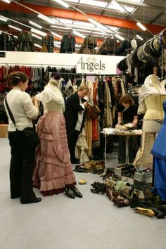 Costumier giants Angels seeking Creative Apprentices