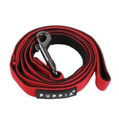 Puppia's two-tone leash is the perfect amount of pizazz! Led Dog Collar, Red Dog, Fashion Leaders, Dog Leash, Dog Owners, Blue Stripes, Pet Adoption, Your Pet, Pets