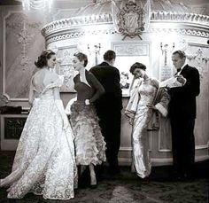 Night at the Opera, photo by Milton Greene, London 1953