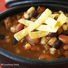 Gooseberry Patch Recipes: Slow-Cooker Taco Soup from Church Suppers