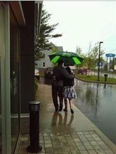No umbrella? No worries. TD's got you covered. #nowthatsconvenient