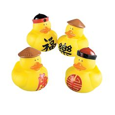 Chinese Rubber Duckies - OrientalTrading.com