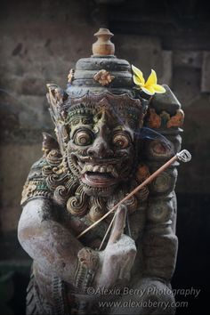 Barong, King of the spirits. Bali, Indonesia.