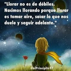 Lloro por que me duele,Desepcion de amor. Happy Quotes, Book Quotes, Words Quotes, Life Quotes, Little Prince Quotes, The Little Prince, Motivational Phrases, Inspirational Quotes, Excited About Life