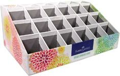 copic markers storage - this looks like it would hold a lot of markers. Love it!