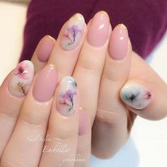 STUNNING SUMMER FLORAL NAILS DESIGNS IDEAS