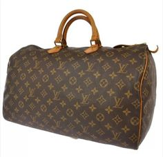 Louis Vuitton Speedy 40 Hand Duffle Hobo Bag. Hobo bags are hot this season! The Louis Vuitton Speedy 40 Hand Duffle Hobo Bag is a top 10 member favorite on Tradesy. Get yours before they're sold out!