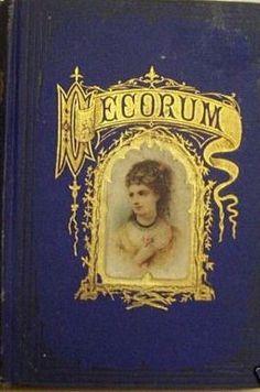 19TH CENTURY MOURNING BOOKS & ET