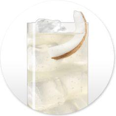 Skinnygirl™ Suntan: 2 parts Skinnygirl™ Island Coconut Vodka, 2 parts club soda, Splash of pineapple juice