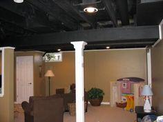 basement ceilings basement ceilings and exposed basement ceiling
