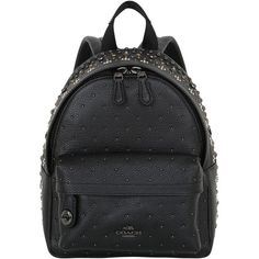 21ff04282529 Coach Ny Women Studded Leather Backpack ( 675) ❤ liked on Polyvore  featuring bags
