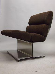Chair by Francois Monnet Circa 1970 France