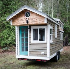 Elegant mobile tiny home by Rewild Homes: tour the house with us