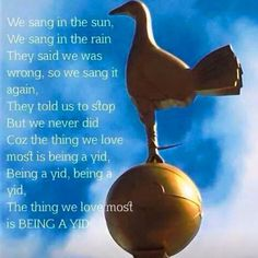 Being a Yid London Pride, Tottenham Hotspur Football, Spurs Fans, White Hart Lane, Singing In The Rain, North London, Soccer, Passion, Club