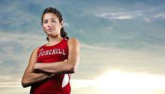 Athlete, Varsity and Sports Senior Photos | Keberly Photography | (734) 542-9556