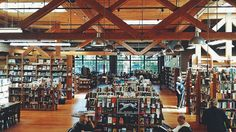 beckisbookshelf:  Elliott Bay Book Company, seattle Washington