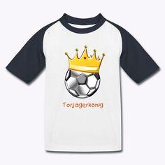 Kinder Baseball T-Shirt Inspiriert von dem US-Amerikanischen Sport schlechthin kommt dieses Baseballshirt mit farblich abgesetzten, kurzen Raglan-Ärmeln.