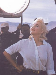 I found myself wandering the 'net looking for Marilyn. A softer-smiling-reflective Marilyn. I found that ...