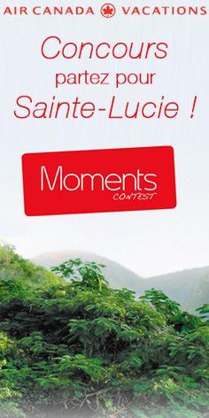 Gagnez un voyage à Sainte-Lucie ! Fin le 31 juillet.  http://rienquedugratuit.ca/concours/voyage-a-sainte-lucie/
