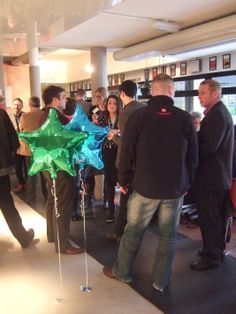 Great networking at the Nottingham Playhouse