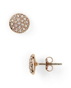 Saw these Ralph Lauren Rose Gold Pavé Earrings too. Might have to go back and get them
