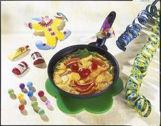 Unser beliebtes Rezept für Leckere Clown-Tortilla und mehr als 55.000 weitere kostenlose Rezepte auf LECKER.de.