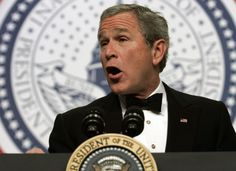 """Republicans are trying to clean up his image. Don't be Fooled Again. 5 Reasons to Remind Republicans Why G. W. Bush Was One of the Worst Pres in U.S. History --- """"Back in 2008 it was almost universally accepted that G. W. Bush was an epic failure as president. When he left office his Gallup approval rating was 34%, which was actually up from the 25% it fell to in Oct '08. Though I have no idea how it went up 9 points in the midst of one of the worst economic collapses in US history..."""