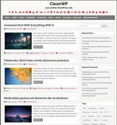 CleanWP WordPress Theme