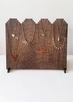 NEW Joined Tier Necklace Display w/ Custom Logo 12 Necklaces