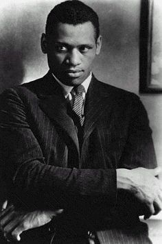 """You (U.S. Government) want to shut up every Negro who has the courage to stand up and fight for the rights of his people.""   -Paul Robeson"