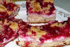rybízový koláč s tvarohem | recept