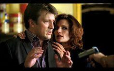 Beckett saving Castle