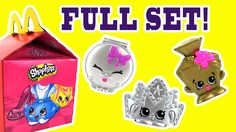 The Complete Set of the Shopkins McDonalds Happy Meal Toys with all the Rare and Ultra Rare Shopkins with the codes. We finally got to complete our set thanks to help from Fast Food Toy Reviews! We were so happy that we got the 3 ultra rares Tiara Penelope Perfume and Kelsey Compact!   Check Out This CRAZY Shopkins video from Fast Food Toy Reviews!  2015 McDONALDS SHOPKINS FACTORY SEALED CASE KIDS TOYS OPENING UNBOXING WITH CODES  https://youtu.be/w6RqSlhmCzQ  Don't forget we are still…