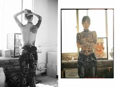 inside the underground subculture of female korean tattoo artists  Eight stunning, rebellious women who are making personal expression their cause.