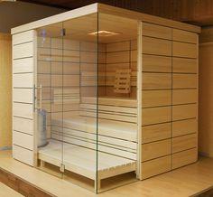 ¿¿Everything about COMFORT sauna cabins says welcome. Its golden interior is a constant invitation, promising genuine warmth and coziness through the dual-wall glass paneling. Sauna Steam Room, Sauna Room, Saunas, 2 Person Sauna, Sauna Design, Outdoor Sauna, Kabine, Bathroom Layout, Luxury Decor
