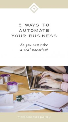 5 Ways to Automate Your Business #business #automation #smallbusiness #tips
