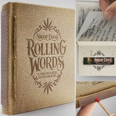 Snoop Dogg Rolling Words Smokeable Songbook - $50