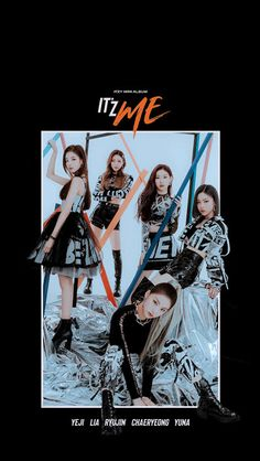 'IT'z ME' is the second mini album by South Korean girl group ITZY (있지). Kpop Girl Groups, Korean Girl Groups, Kpop Girls, K Pop, Kpop Backgrounds, Mnet Asian Music Awards, More Wallpaper, Girl Bands, K Idols
