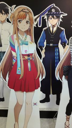 """Sword Art Online"" Global Variants Of Kirito And Asuna Displayed"