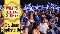 Saint-Jean-Baptiste Day is a holiday that's celebrated in Quebec each year on June But what's it all about? St Jean Baptiste, Quebec, Saints, June 24, Activities, Learning, Celebrities, Kids, French