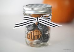 Halloween Mason Jar Gift