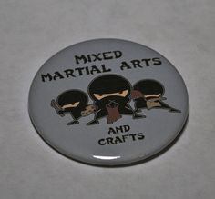 Being a scrapbooker and a 2nd degree blackbelt in taekwondo, i find this quite funny.